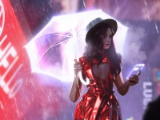 Собирать пазл Летний дождь онлайн