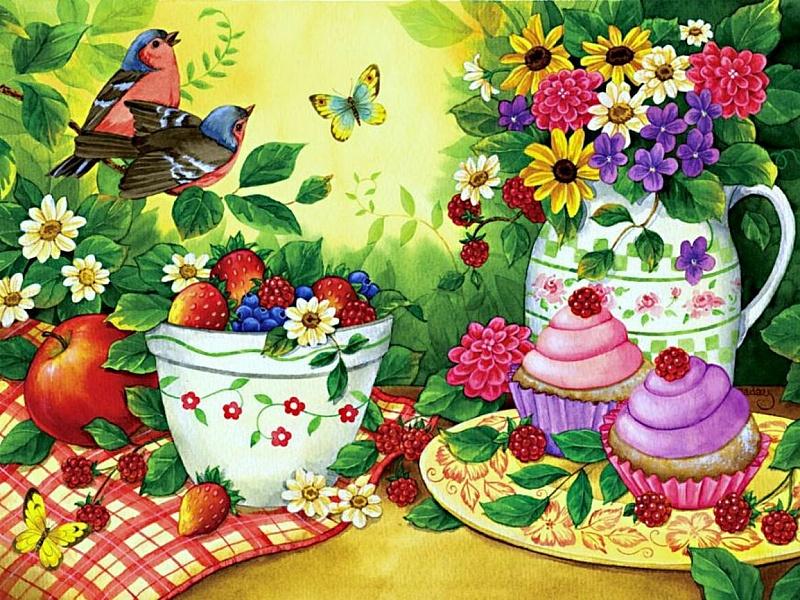 Картинки для пазлов с цветами