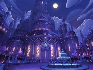 Собирать пазл Лиловый дворец онлайн