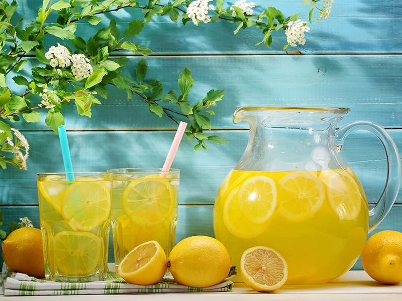Пазл Собирать пазлы онлайн - Лимонад