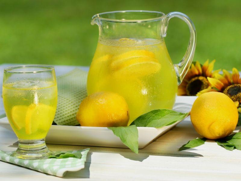 Пазл Собирать пазлы онлайн - Лимонад со льдом