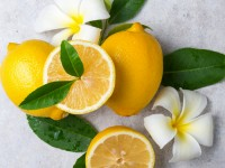 Собирать пазл Лимоны и цветы онлайн