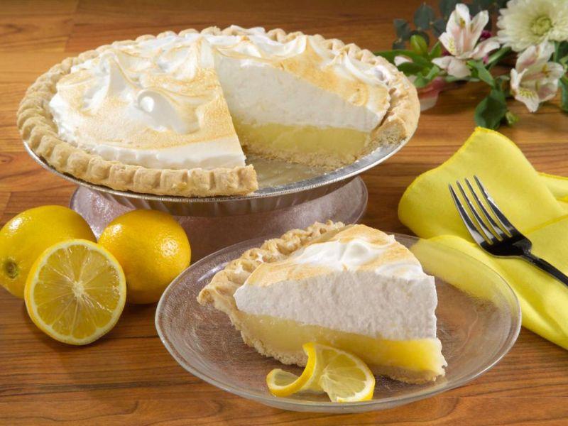 Пазл Собирать пазлы онлайн - Лимонный пирог
