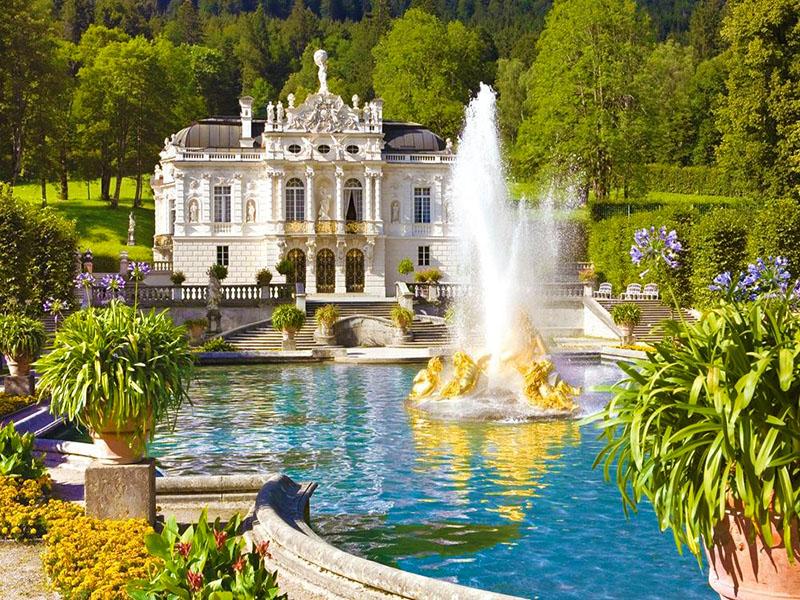 рафия замки с фонтанами красивые картинки мешают морозы нам