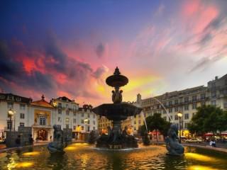Собирать пазл Лиссабон. Португалия онлайн