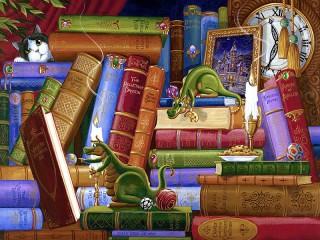 Собирать пазл Литераторы онлайн