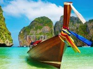 Собирать пазл Лодка у берега онлайн
