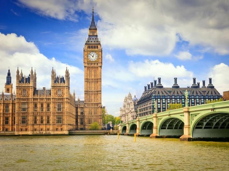 Пазл Собирать пазлы онлайн - Лондон