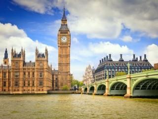 Собирать пазл Лондон онлайн