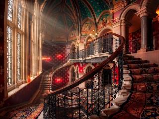 Собирать пазл Лондонский отель онлайн