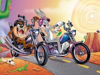 Собирать пазл Looney Tunes онлайн