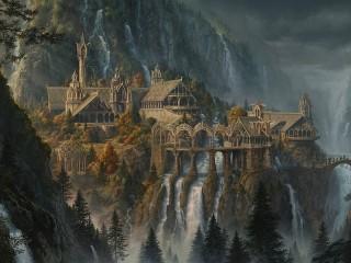 Собирать пазл Lord of the Rings онлайн