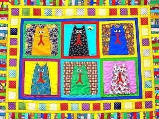 Собирать пазл Лоскутное одеяло онлайн