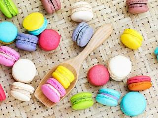 Собирать пазл Ложка с печеньем онлайн