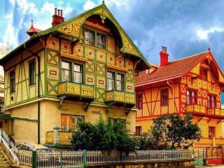 Собирать пазл Лугачовице Чехия онлайн