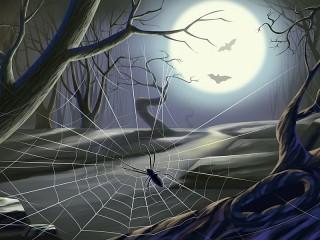 Собирать пазл Лунный свет онлайн