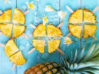 Собирать пазл Лёд и ананас онлайн