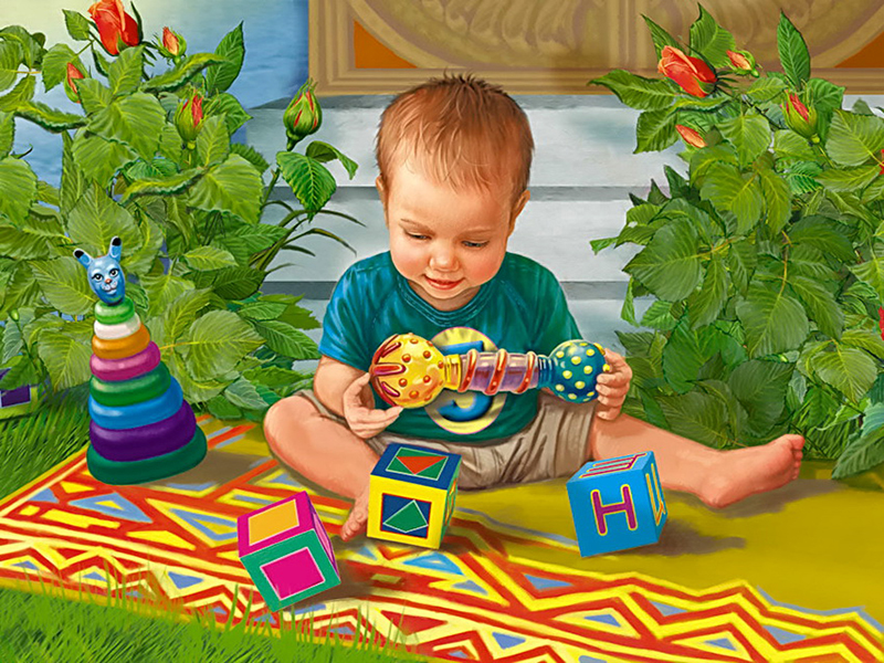 Пазл Собирать пазлы онлайн - Любимые игрушки