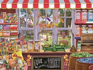Собирать пазл Любимые сладости онлайн