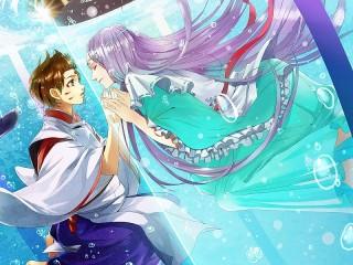 Собирать пазл Любовь в аниме онлайн