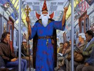Собирать пазл Маг в метро онлайн