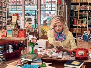 Собирать пазл Магазин книг онлайн