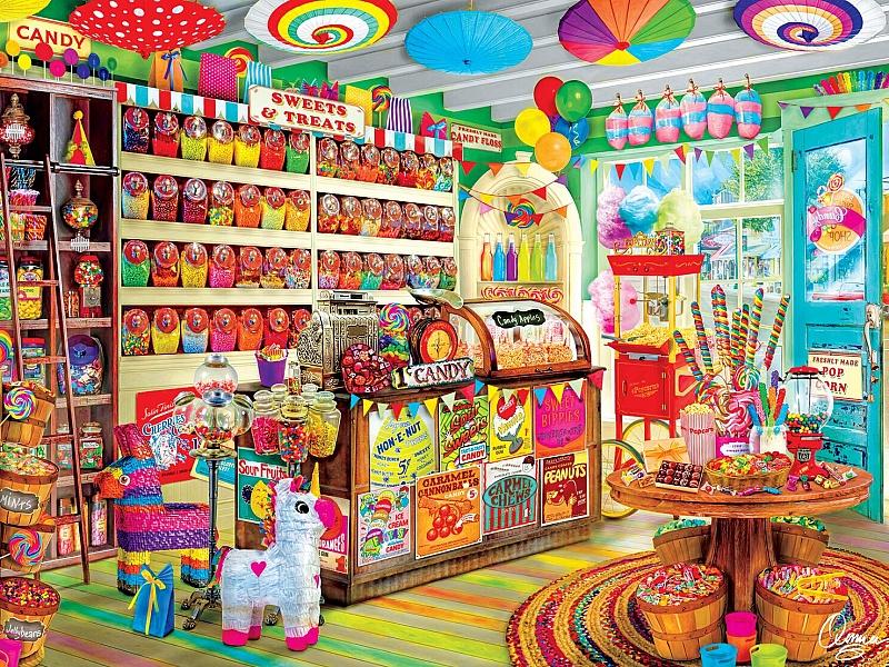 магазин конфет картинки