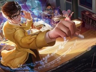 Собирать пазл Магическая алгебра онлайн
