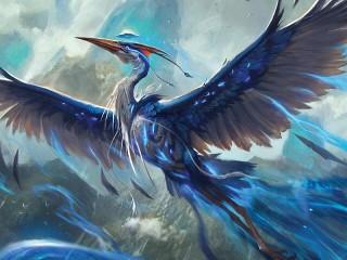Собирать пазл Магическая птица онлайн