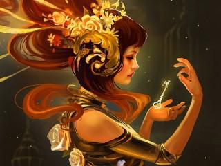 Собирать пазл Магический ключ онлайн