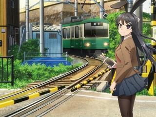 Собирать пазл Mai Sakurajima онлайн