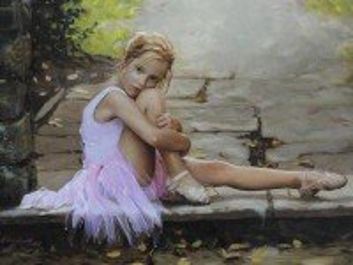 Собирать пазл Маленькая балерина онлайн