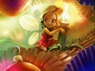 Собирать пазл Маленькая фея 1 онлайн