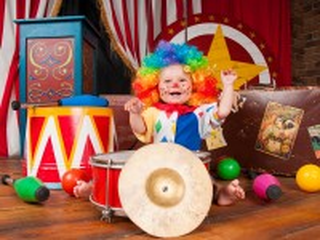 Собирать пазл Маленький клоун онлайн