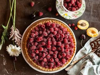 Собирать пазл Малиновый тарт онлайн
