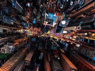 Собирать пазл Манхэттен онлайн