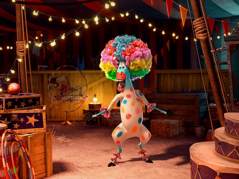 Пазл Собирать пазлы онлайн - Марти в цирке