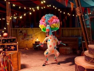 Собирать пазл Марти в цирке онлайн
