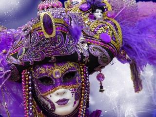 Собирать пазл Маски карнавала_2 онлайн