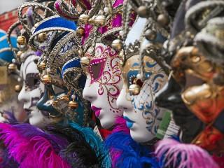 Собирать пазл Маски карнавала_4 онлайн