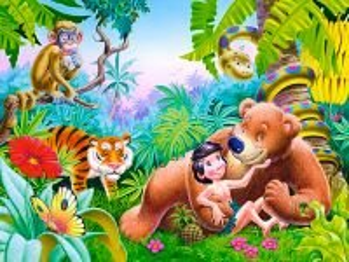 Собирать пазл Маугли онлайн