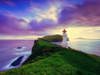 Собирать пазл Маяк в Исландии онлайн