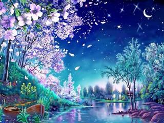 Собирать пазл Майская ночь онлайн