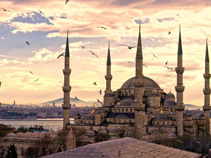 Пазл Собирать пазлы онлайн - Мечеть