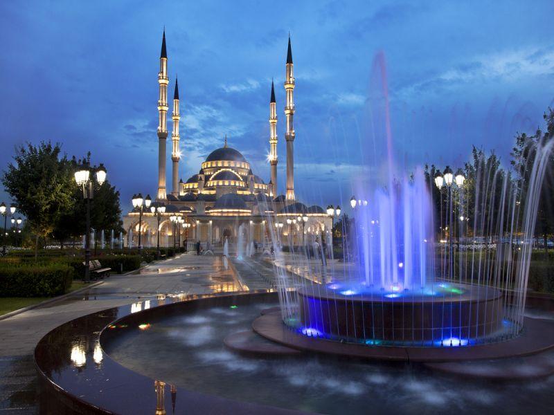 Пазл Собирать пазлы онлайн - Мечеть Кул Шариф