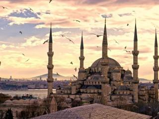 Собирать пазл Мечеть онлайн