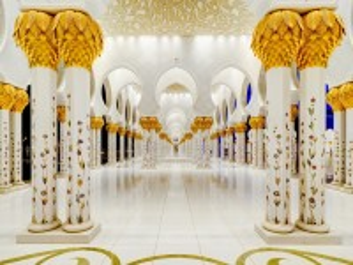 Собирать пазл Мечеть шейха Зайда онлайн