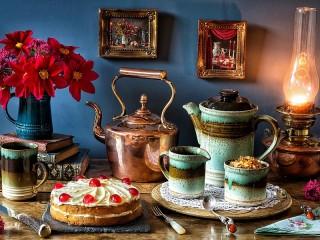 Собирать пазл Медный чайник онлайн