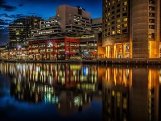 Собирать пазл Мельбурн онлайн