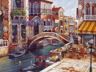 Собирать пазл Мелодии Венеции онлайн